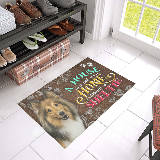 ll 5 sheltie home doormat