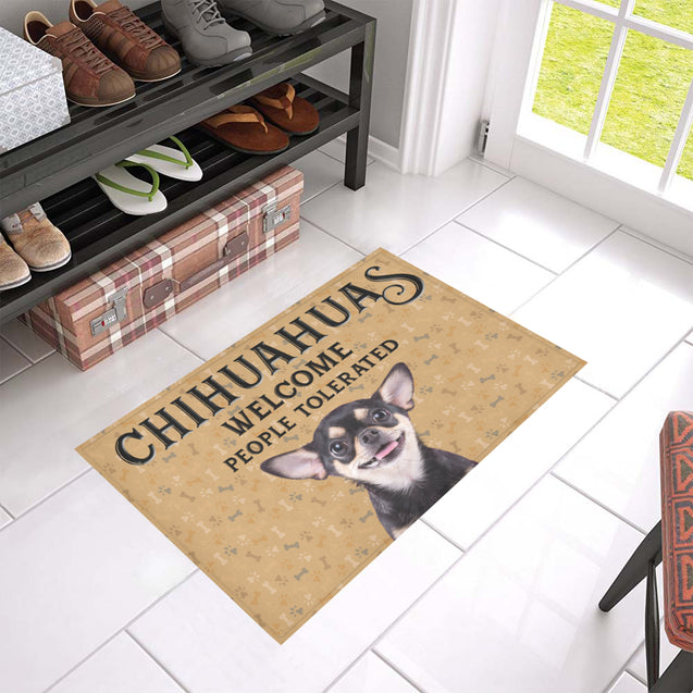 Nh 1 Chihuahua Welcome doormats