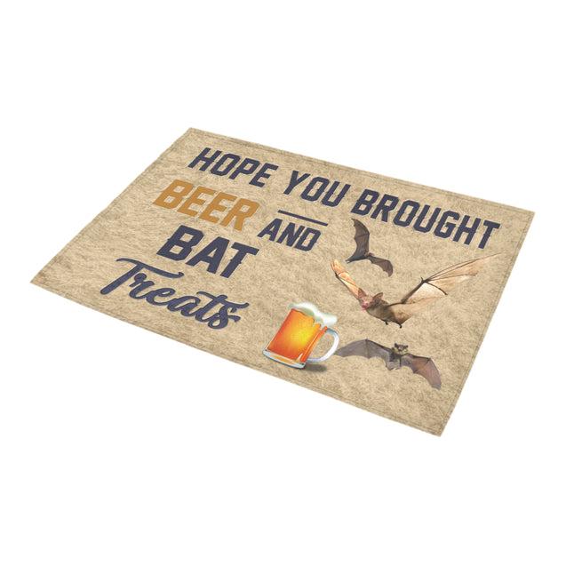 Nh 1 Bat Beer Doormat
