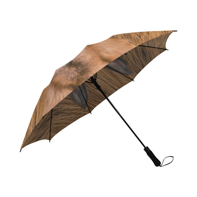 TD 6 German Shepherd Fur Texture Umbrella