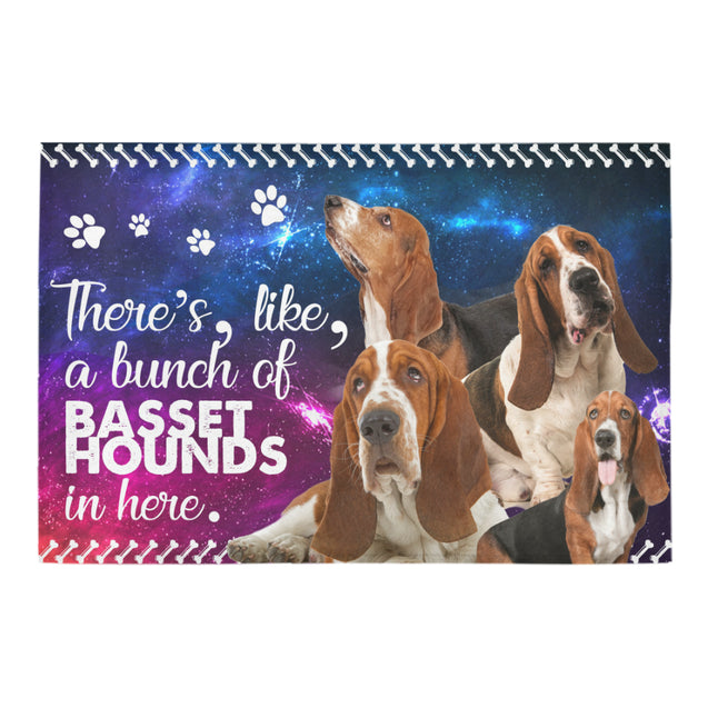 TD 5 A Bunch Of Basset Hounds Doormat