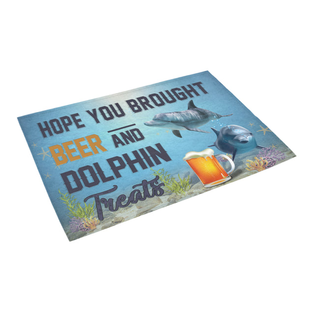 Nh 1 Dolphin beer doormat
