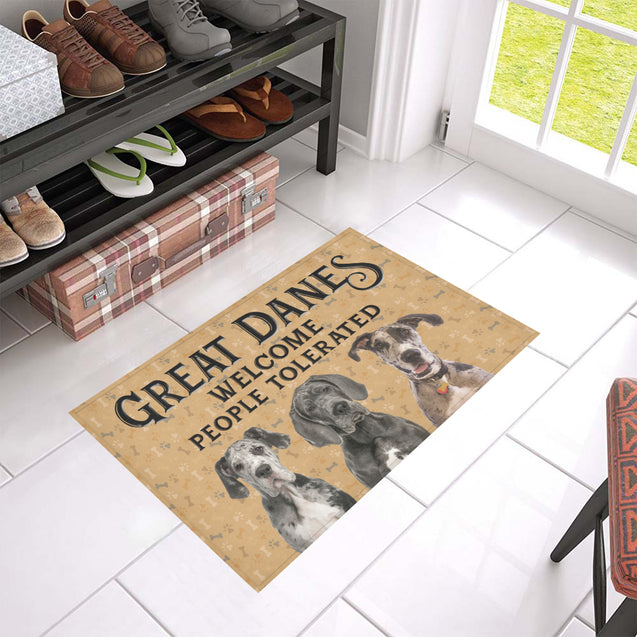 Nh 1 Great Danes Welcome doormats