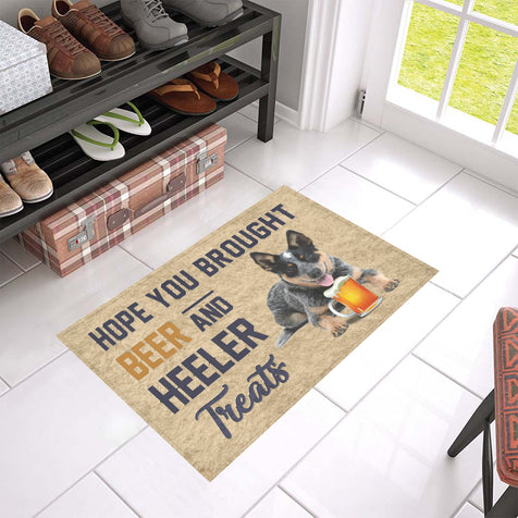 Nh 1 heeler beer doormat