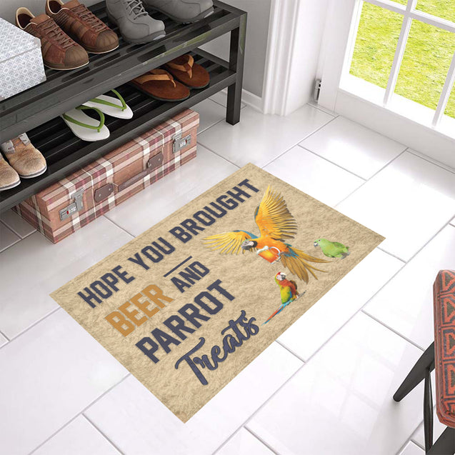 Nh 1 Parrot beer doormat