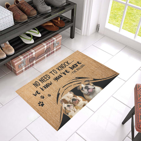 ll 1 bulldog we know doormat