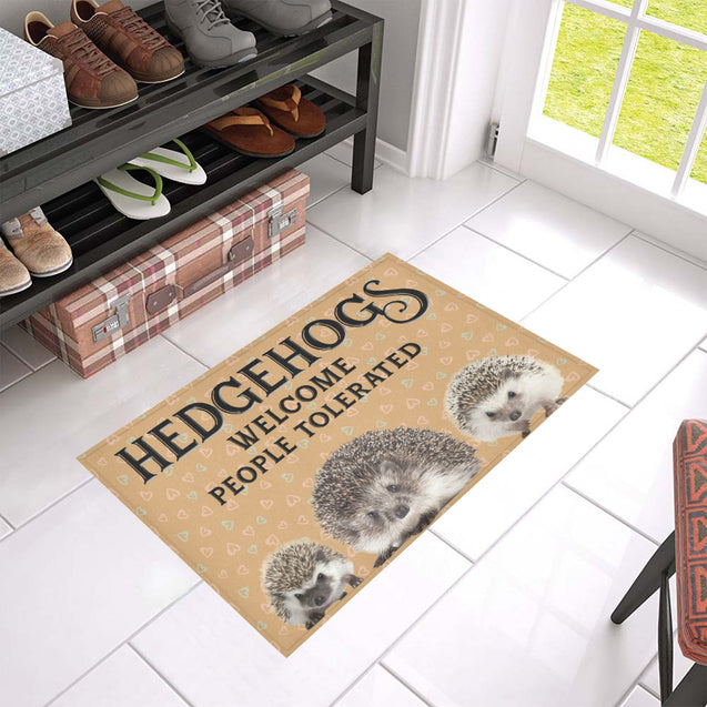 Nh 1 Hedgehogs Welcome doormats