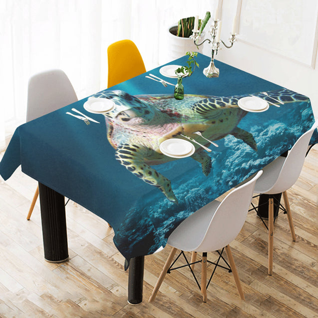 ln 1turtle undersea tablecloths