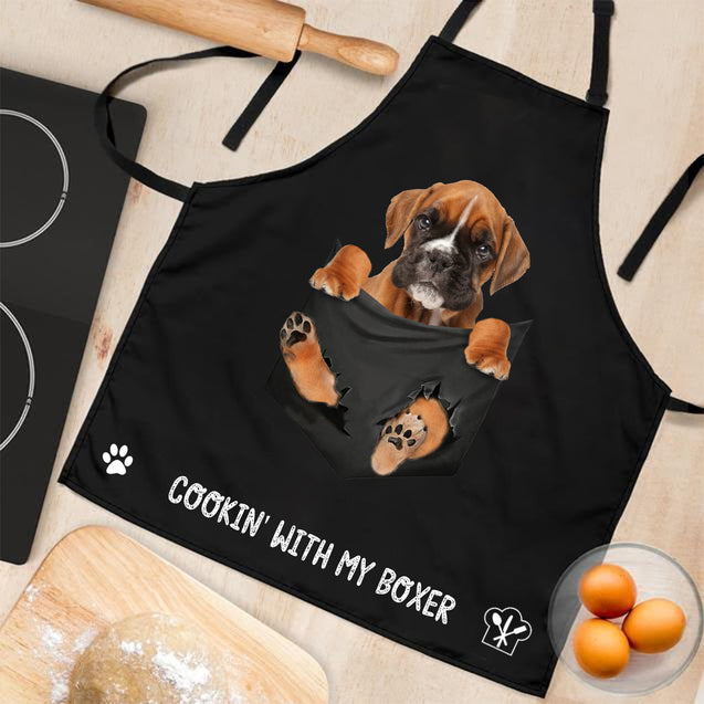 TD Boxer Cookin' With Me Apron