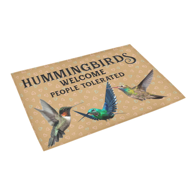 Nh 1 Hummingbird welcome doormats