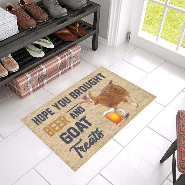 Nh 1 Goat beer doormat