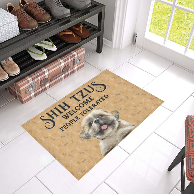 Nh 1 Shih Tzu Welcome doormats
