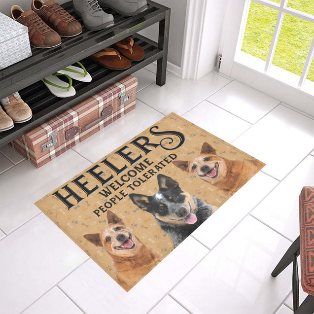 Nh 1 Heeler Welcome doormats