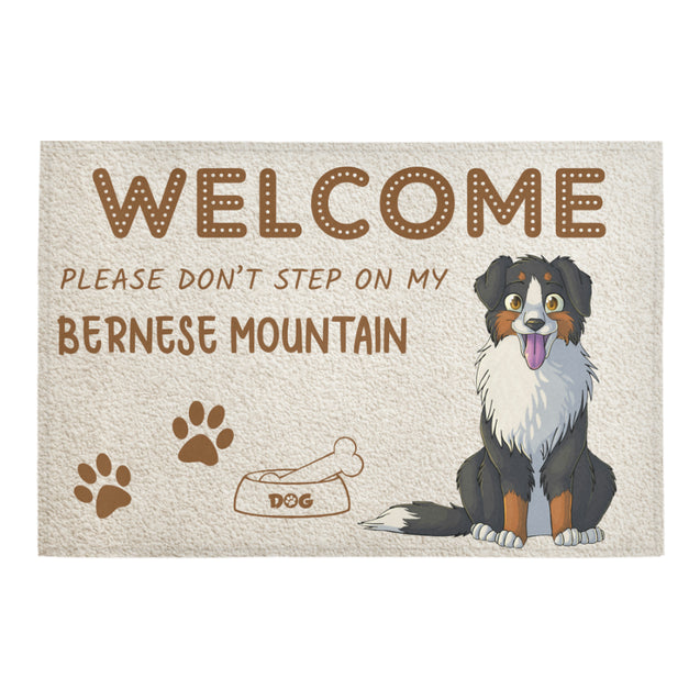 vt-9--Bernese Mountain doormat