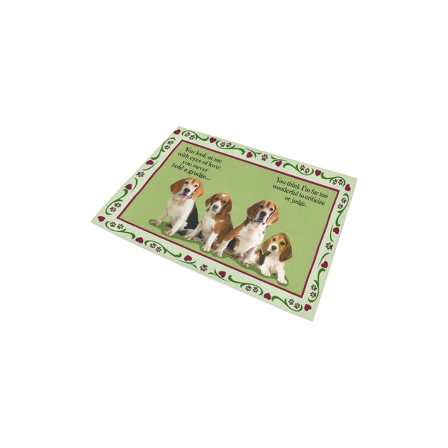 ln beagle look area rug