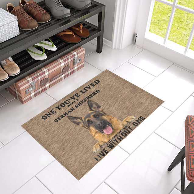 Vt- german shepherd Doormat