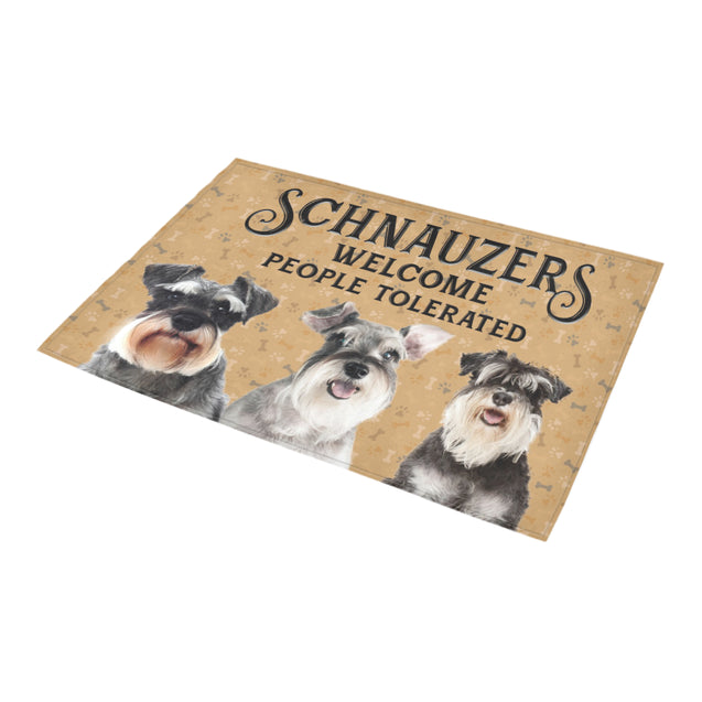 Nh 1 Schnauzer Welcome doormats