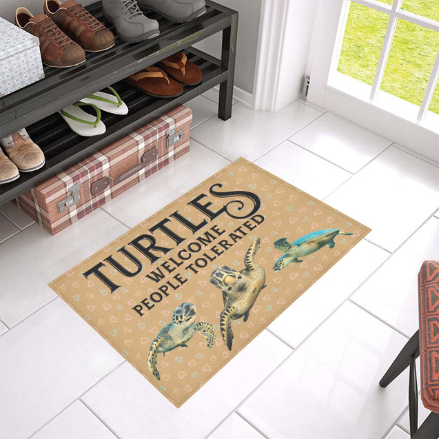Nh 1 Turtles Welcome doormats