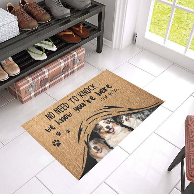 ll 1 aussie we know doormat