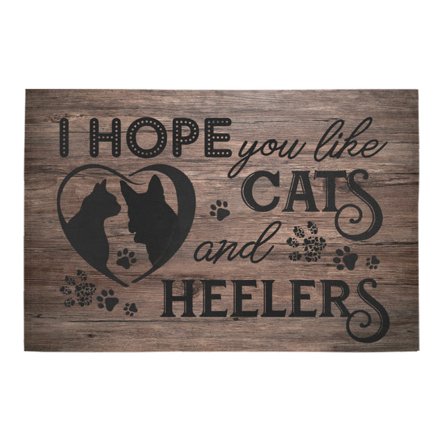 nh 5 heelers and cats