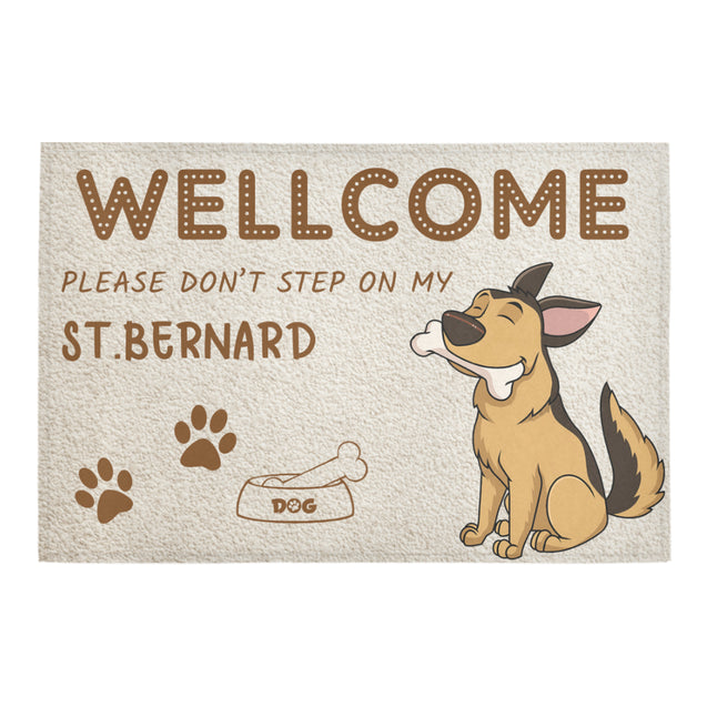 vt-9-German Shepherd doormat