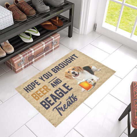 Nh 1 Beagle Beer Doormat