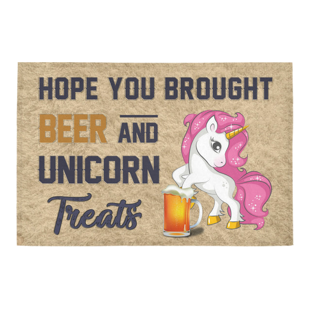 Nh 1 Unicorn beer doormat