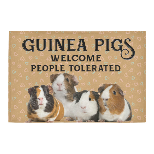 Nh 1 Guinea pig welcome doormats