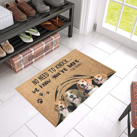 ll 1 beagle we know doormat