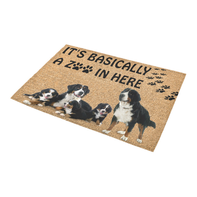 vt-9-Bernese Mountain zoo doormat