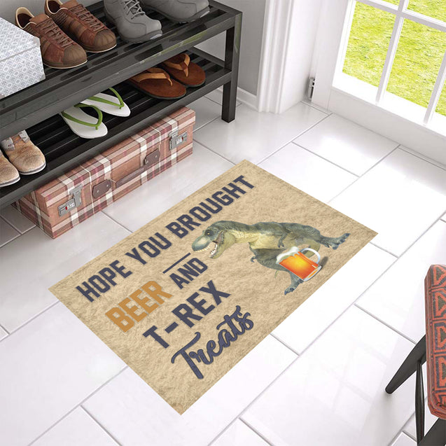 Nh 1 T-rex beer doormat