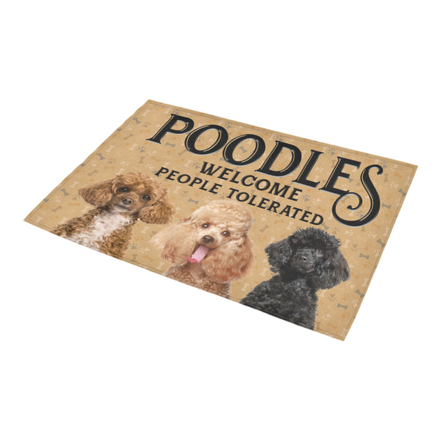 Nh 1 Poodles Welcome doormats