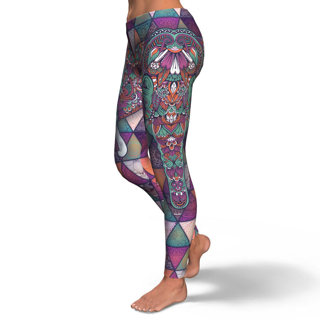 leggings Mandala Elephant