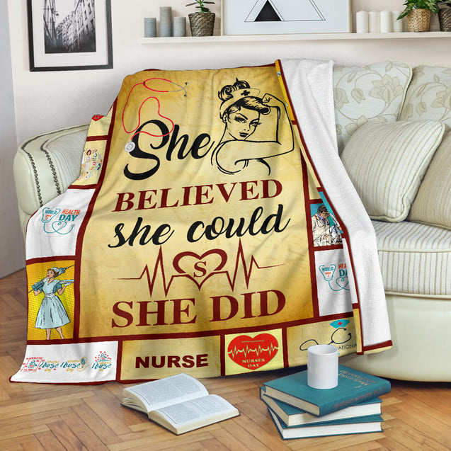 nh nurse premium blanket