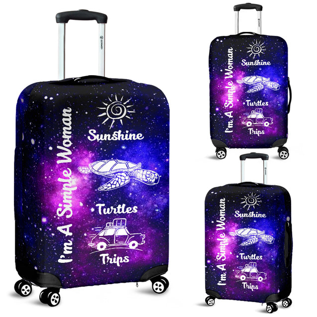 nh turtle simple woman luggage covers