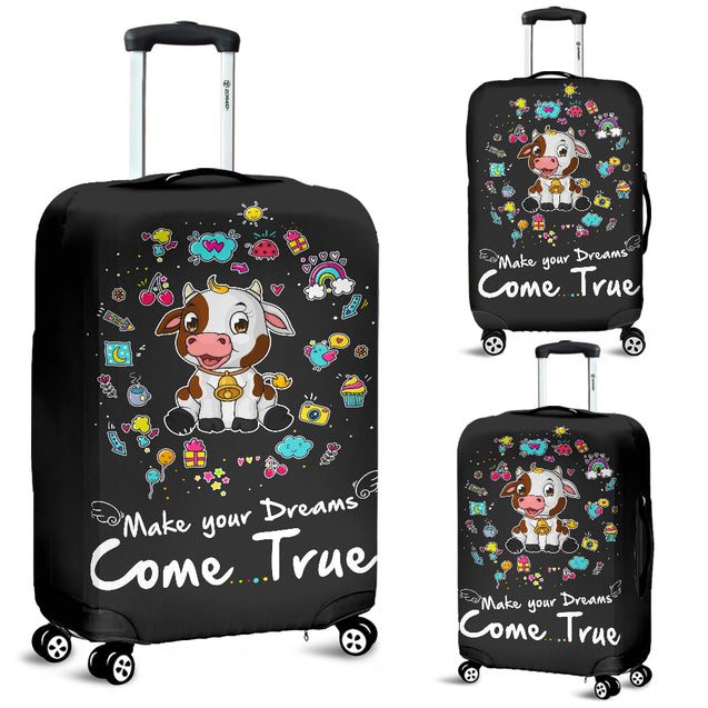 Td 2 Cow Come True Luggage Covers