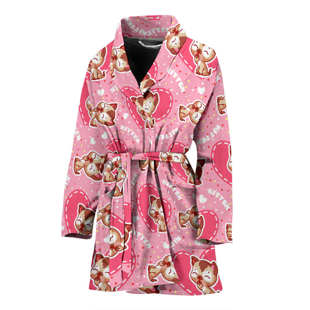 ln 1 cat full women's bath robe
