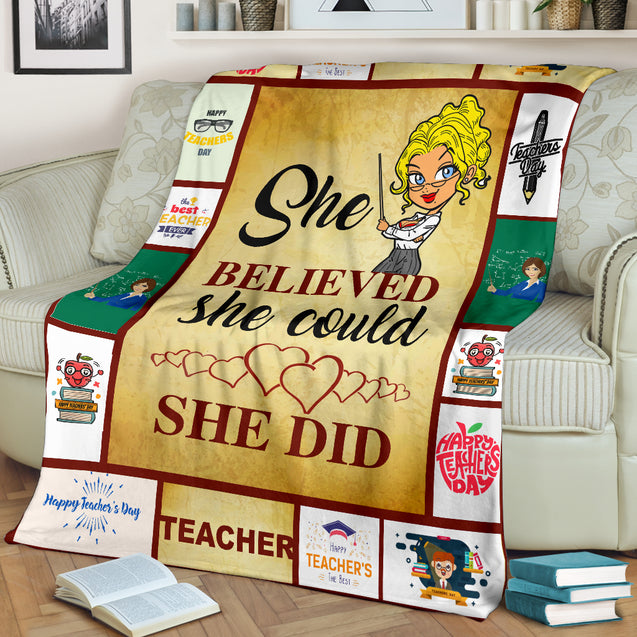 nh teacher premium blanket
