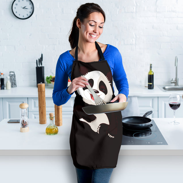 nh panda so cute womens apron