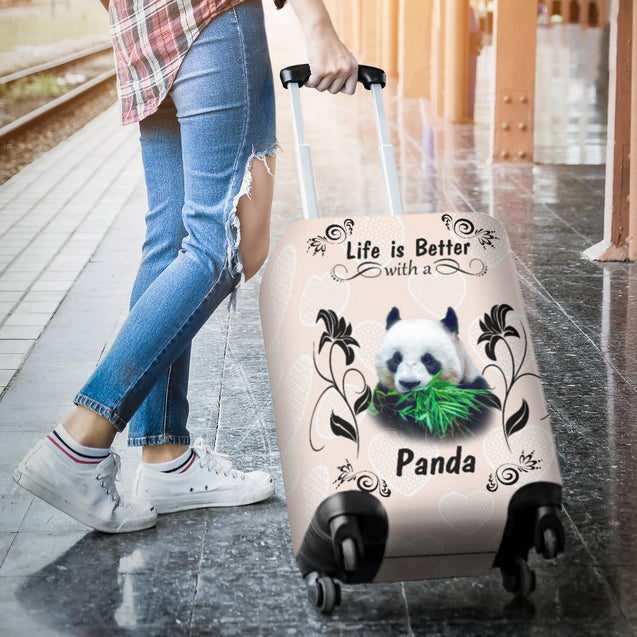 Ta Panda Better luggage cover