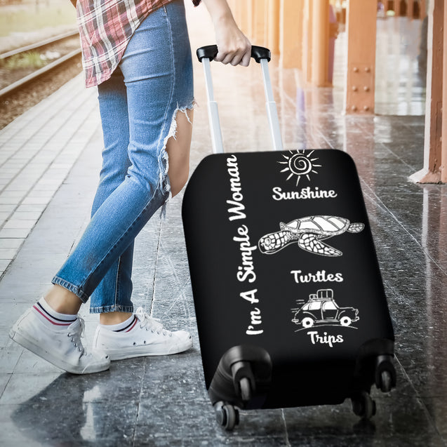 nh turtle simple women luggage cover