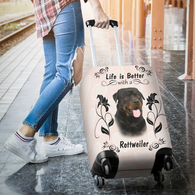 Ta Rottweiler Better luggage cover
