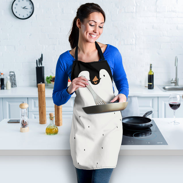 ln penguin full face apron
