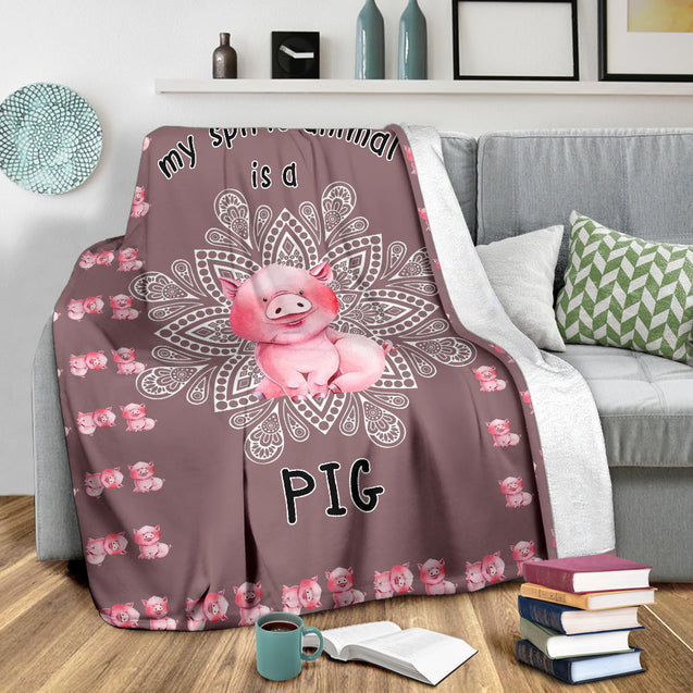 SHN 7 My spirit animal is a Pig blanket
