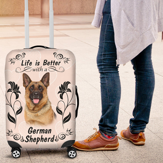 Ta German Shepherd Better Luggage Cover