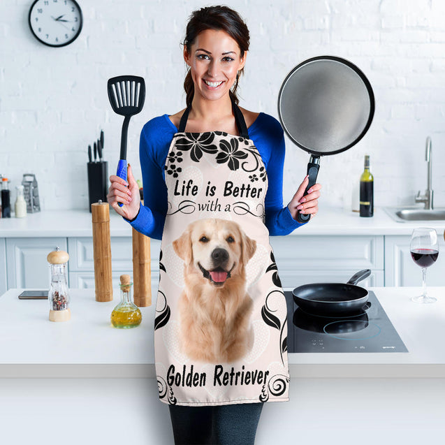 Ta Golden Retriever Better Apron