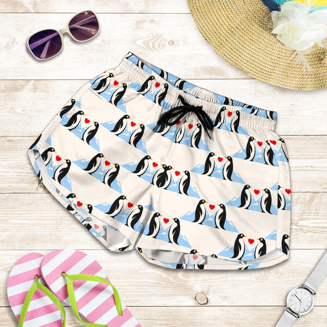 Ta 8 Penguin Love women's short