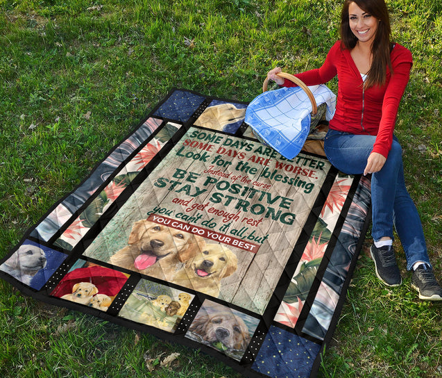 TD 6 Golden Retriever Do Best Premium Quilt