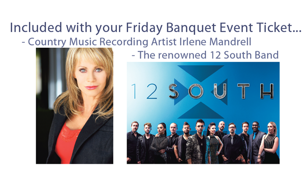 Your Banquet Entertainment!  Irlene Mandrell and the 12 South Band