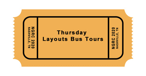 Thursday June 4: Layout Tour Bus, Lunch